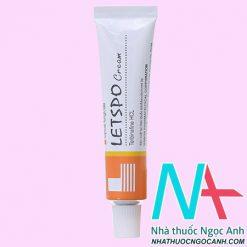 Thuốc Letspo Cream 15g có tác dụng gì