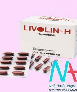 Thuốc Livolin - H có tác dụng gì