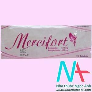 Thuốc Mercifort có tác dụng gì