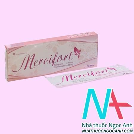 Thuốc Mercifort giá bao nhiêu