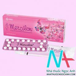 ThuốcMercilon có tác dụng gì