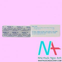 Thuốc Nazinc 15 giá bao nhiêu