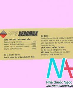 thuốc New Keromax giá bao nhiêu