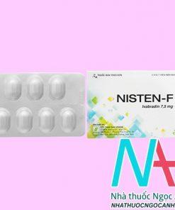 thuốc Nisten F 7.5mg