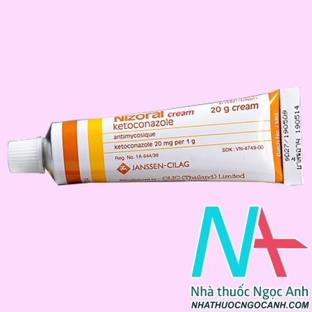 thuốc Nizoral 2% giá bao nhiêu
