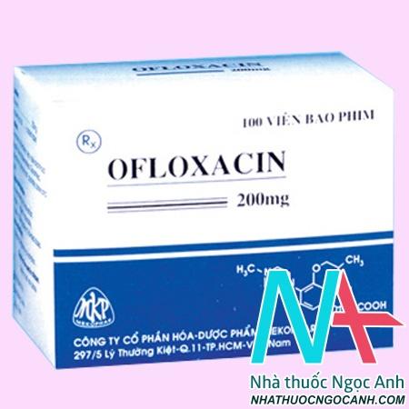 Thuốc Ofloxacin