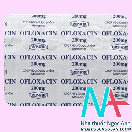 Thuốc Ofloxacin có tác dụng gì