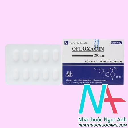 Thuốc Ofloxacin giá bao nhiêu