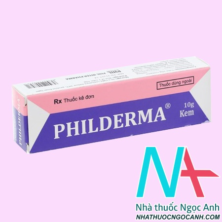 Thuốc Philderma có tác dụng gì