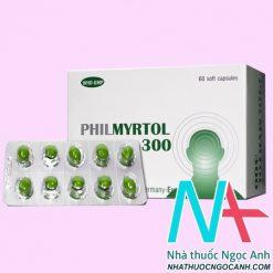 Thuốc Philmyrtol có tác dụng gì