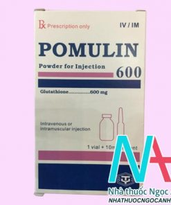 Thuốc Pomulin 600mg Injection