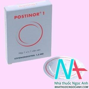 Thuốc Postinor 1 có tác dụng gì