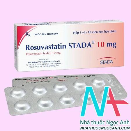 Thuốc Rosuvastatin Stada