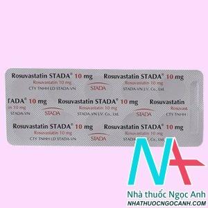 Thuốc Rosuvastatin Stada có tác dụng gì