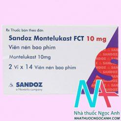 ThuốcMontelukast FCT có tác dụng gì