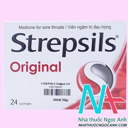Thuốc Strepsils Original