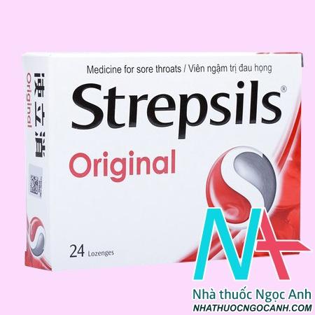 Thuốc Strepsils Original có tác dụng gì