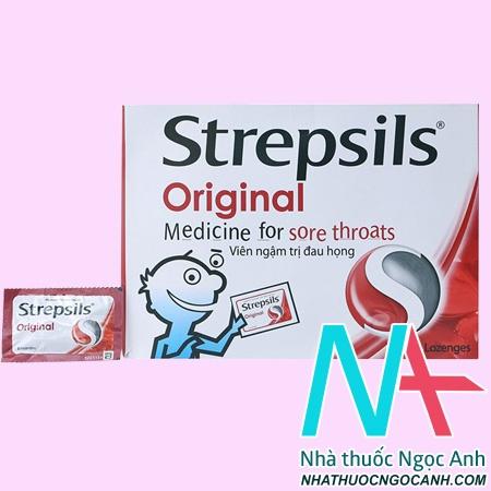 Thuốc Strepsils Original giá bao nhiêu