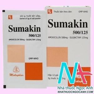 Thuốc Sumakin 500/125