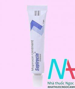 Thuốc Supirocin có tác dụng gì