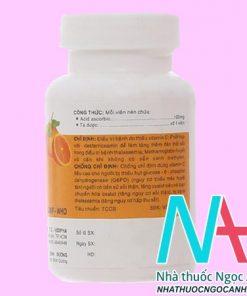 thuốc Vitamin C 0.1g