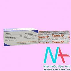 Vitamin PP 500mg giá bao nhiêu