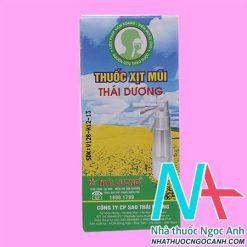 Hộp thuốc xịt mũi Thái Dương