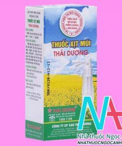 Thuốc xịt mũi Thái Dương