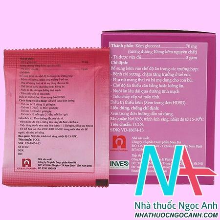thuốc ZinC - Kid Inmed 70mg