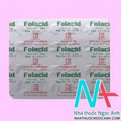 thuốc Folacid 5mg giá bao nhiêu