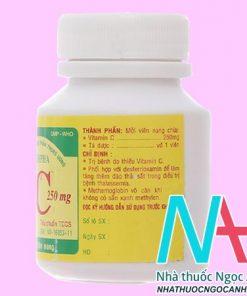 thuốc Vitamin C 250mg Vidipha