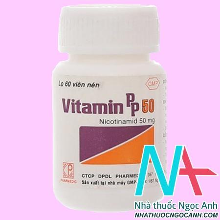 Nicotinamide Vitamin PP 50mg