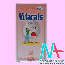 Thuốc Vitarals 20ml có tác dụng gì