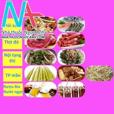 Các thực phẩm bệnh nhân gout nên hạn chế sử dụng