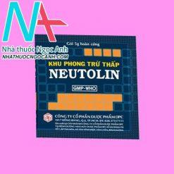 Gói thuốc Khu phong trừ thấp Neutolin