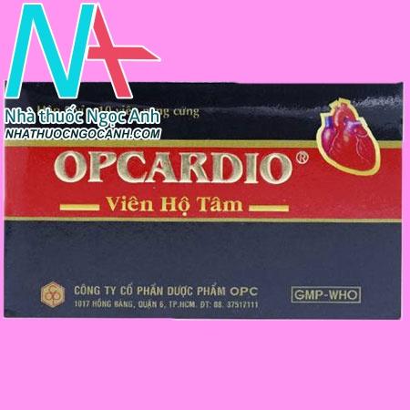 Hộp thuốc thuốc Opcardio