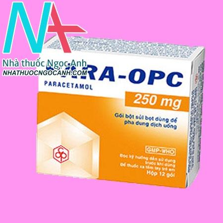 hộp thuốc PARA – OPC 250mg