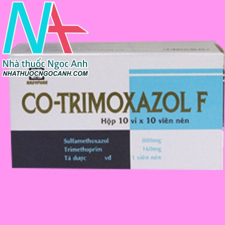 Hộp thuốc Cotrimoxazol-F