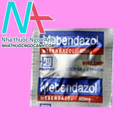 Vỉ thuốc Mebendazol