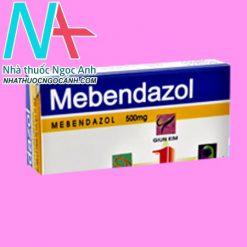 Hộp thuốc Mebendazol