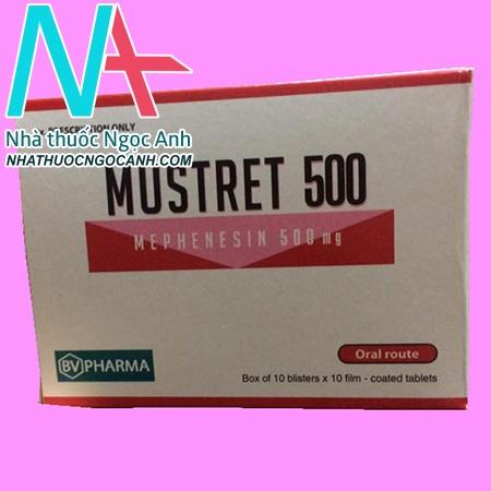 Mustret 500 là thuốc gì