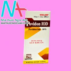 Hộp thuốc Povidon ido