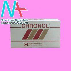 Mặt trước thuốc Chronol