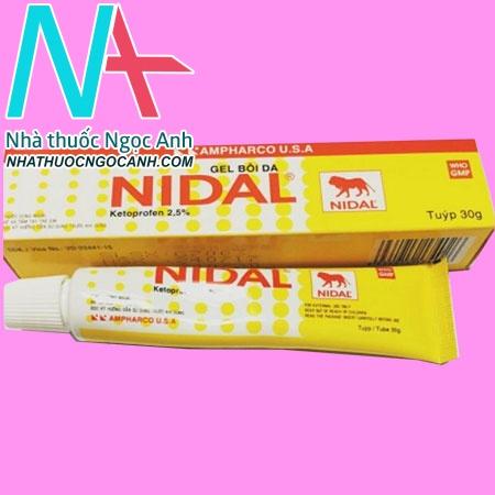 Hộp thuốc Nidal