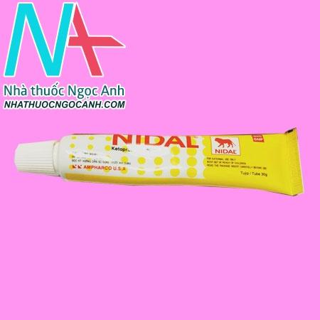 Tuýp thuốc Nidal