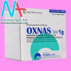 Hộp thuốc oxnas
