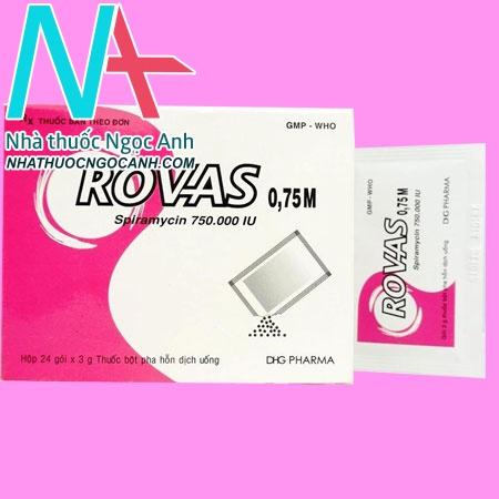 Hộp Rovas 0.75M