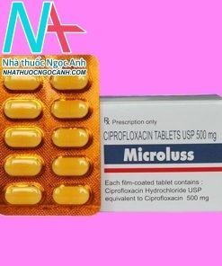 Hộp thuốc Microluss