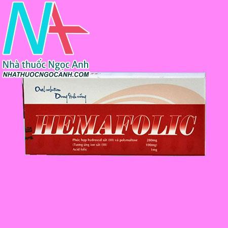 Thuốc Hemafolic