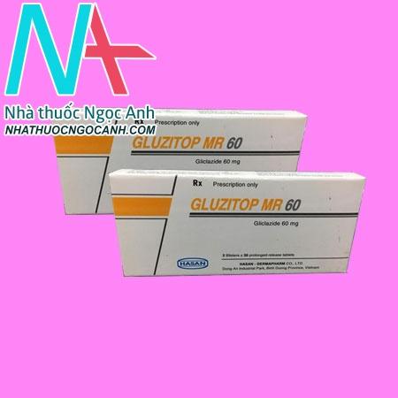 Thuốc Gluzitop MR60